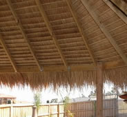 Bali thatch is perfect for gazebos, alfresco areas, carports, over the spa, pool, BBQ