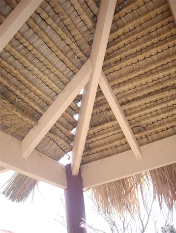 Poor quality local grade Bali thatch