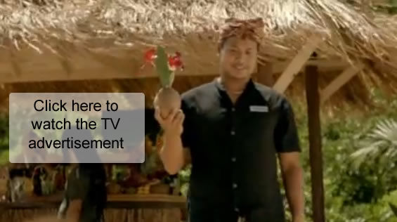 Bali thatch on AAMI's television advertisement